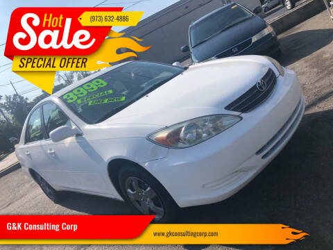 2003 Toyota Camry for sale at G&K Consulting Corp in Fair Lawn NJ
