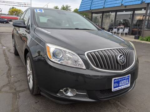 2014 Buick Verano for sale at GREAT DEALS ON WHEELS in Michigan City IN