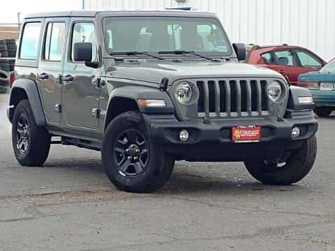 2018 Jeep Wrangler Unlimited for sale at Rocky Mountain Commercial Trucks in Casper WY