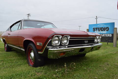 1968 Chevrolet Chevelle for sale at STUDIO HOTRODS in Richmond IL