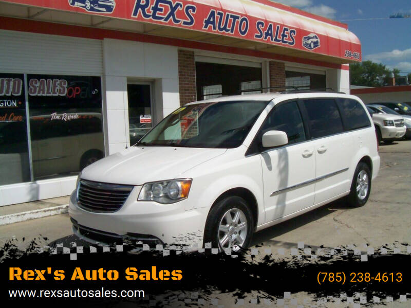 2012 Chrysler Town and Country for sale at Rex's Auto Sales in Junction City KS