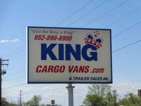 2000 Chevrolet Astro Cargo for sale at King Cargo Vans INC in Savage MN