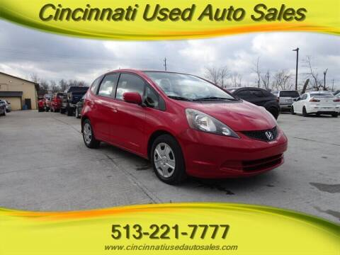 2013 Honda Fit for sale at Cincinnati Used Auto Sales in Cincinnati OH