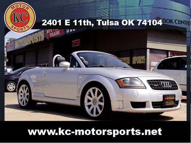 2005 Audi TT for sale at KC MOTORSPORTS in Tulsa OK