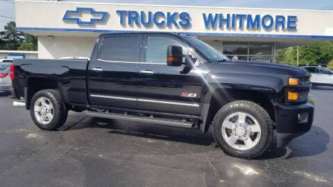 2016 Chevrolet Silverado 2500HD for sale at Whitmore Chevrolet in West Point VA