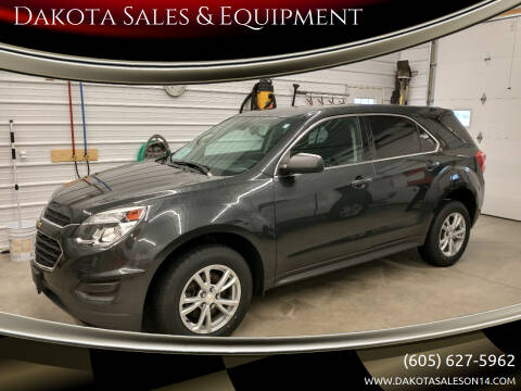 2017 Chevrolet Equinox for sale at Dakota Sales & Equipment in Arlington SD