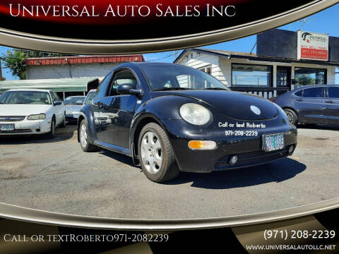 2002 Volkswagen New Beetle for sale at Universal Auto Sales Inc in Salem OR