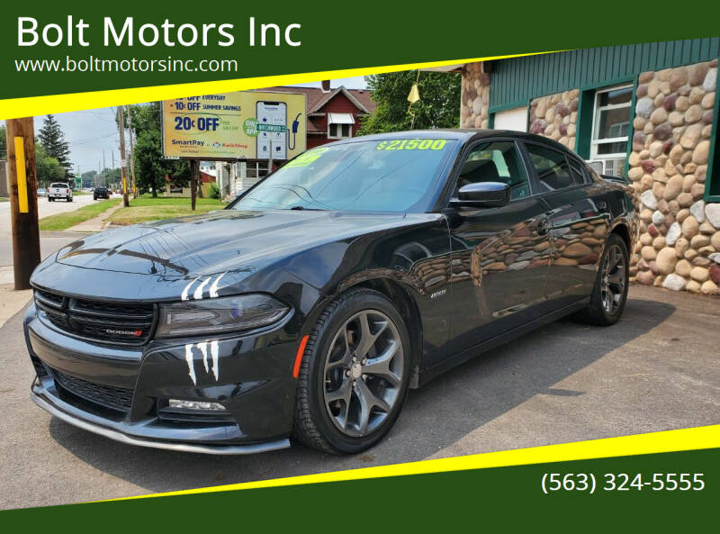 2016 Dodge Charger for sale at Bolt Motors Inc in Davenport IA