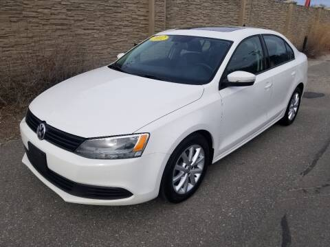 2012 Volkswagen Jetta for sale at Howe's Auto Sales in Lowell MA