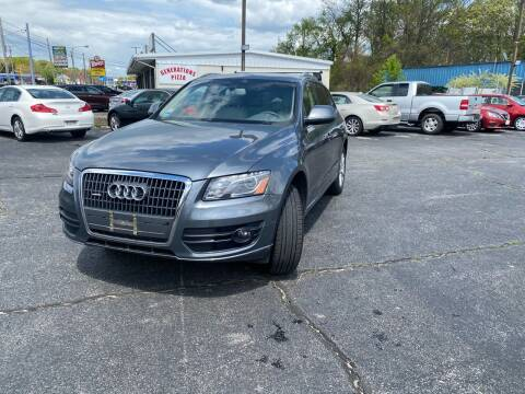 2012 Audi Q5 for sale at M & J Auto Sales in Attleboro MA