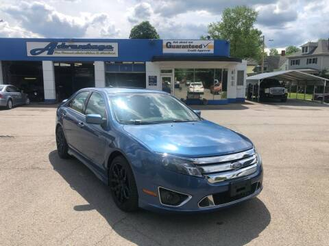 2010 Ford Fusion for sale at Advantage Auto Sales in Wheeling WV