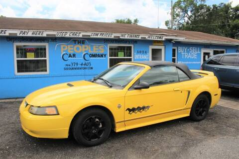 1999 Ford Mustang for sale at The Peoples Car Company in Jacksonville FL