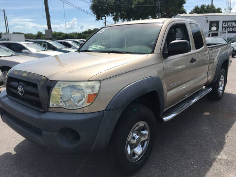 2005 Toyota Tacoma for sale at Cartina in Tampa FL