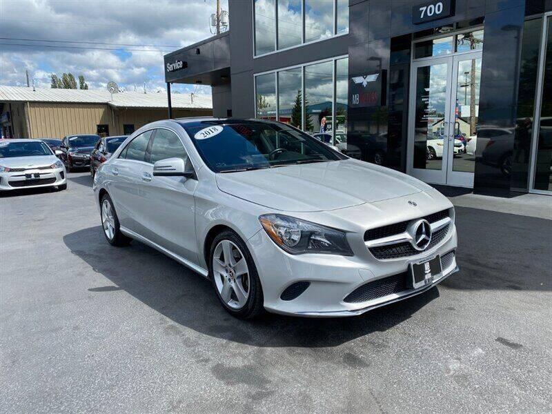 2018 Mercedes-Benz CLA for sale in Bellingham, WA
