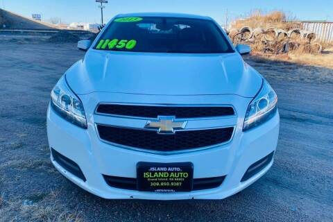 2013 Chevrolet Malibu for sale at Island Auto Express in Grand Island NE