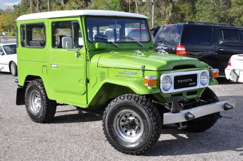 1981 Toyota BJ40 Land Cruiser for sale at Elite Motorcar, LLC in Deland FL
