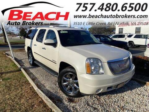 2011 GMC Yukon XL for sale at Beach Auto Brokers in Norfolk VA