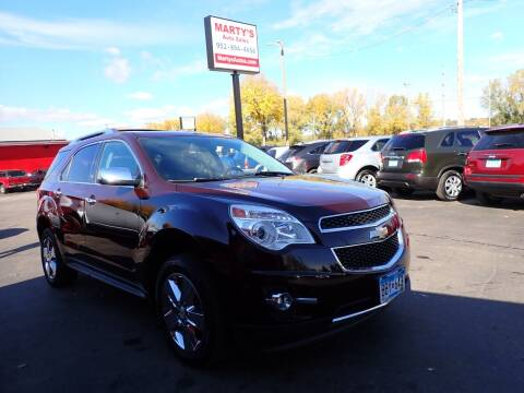 2011 Chevrolet Equinox for sale at Marty's Auto Sales in Savage MN