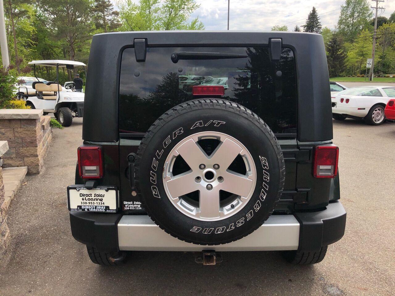 2010 Jeep Wrangler Unlimited Sport Utility