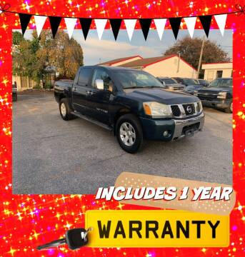 2006 Nissan Titan for sale at LAUER BROTHERS AUTO SALES in Dover PA