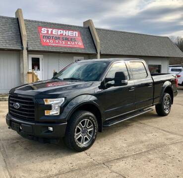 2015 Ford F-150 for sale at Stephen Motor Sales LLC in Caldwell OH
