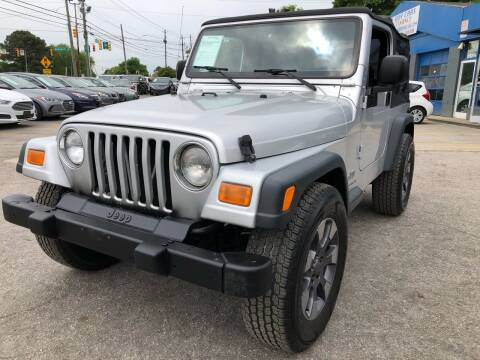 2004 Jeep Wrangler for sale at Capital Motors in Raleigh NC