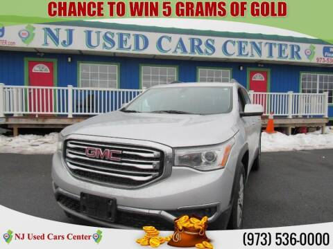 2018 GMC Acadia for sale at New Jersey Used Cars Center in Irvington NJ