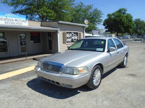 2010 Mercury Grand Marquis for sale at New Gen Motors in Lakeland FL