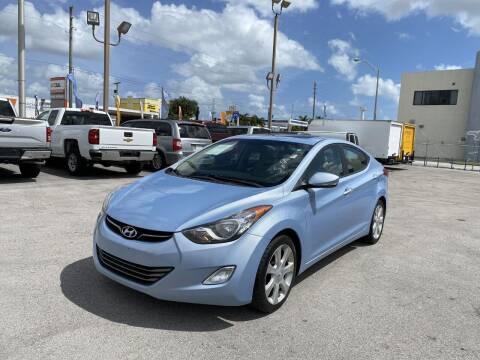 2011 Hyundai Elantra for sale at MANA AUTO SALES in Miami FL