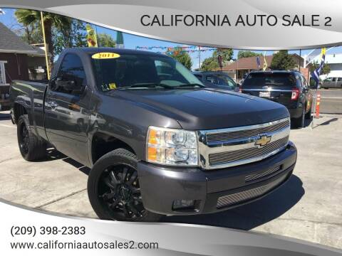 2011 Chevrolet Silverado 1500 for sale at CALIFORNIA AUTO SALE 2 in Livingston CA
