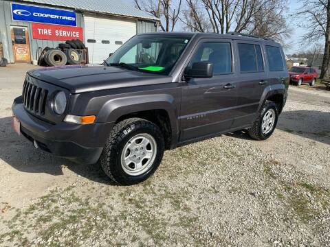 2016 Jeep Patriot for sale at GREENFIELD AUTO SALES in Greenfield IA