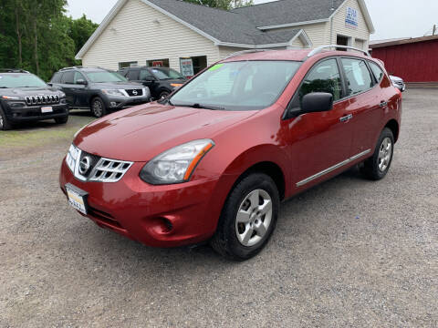2015 Nissan Rogue Select for sale at Evia Auto Sales Inc. in Glens Falls NY