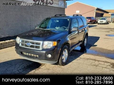 2011 Ford Escape for sale at Harvey Auto Sales, LLC. in Flint MI