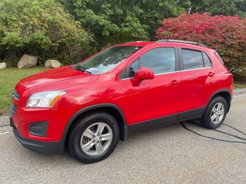 2015 Chevrolet Trax for sale at Padula Auto Sales in Braintree MA