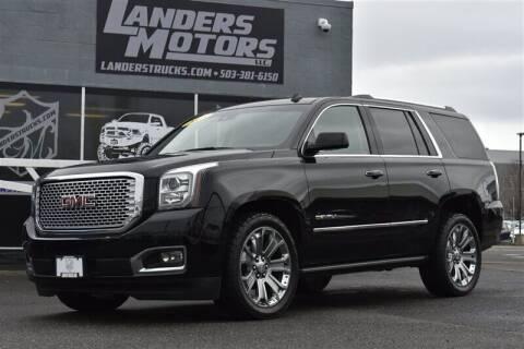 2015 GMC Yukon for sale at Landers Motors in Gresham OR