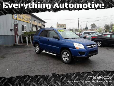 2010 Kia Sportage for sale at Everything Automotive in Tonawanda NY