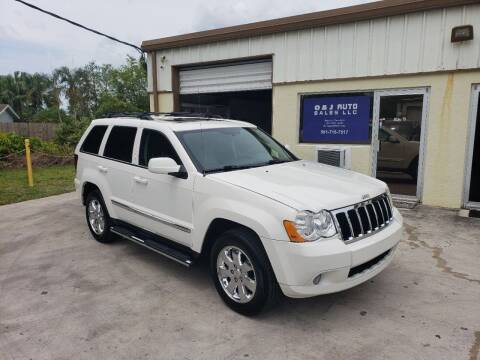 2008 Jeep Grand Cherokee for sale at O & J Auto Sales in Royal Palm Beach FL