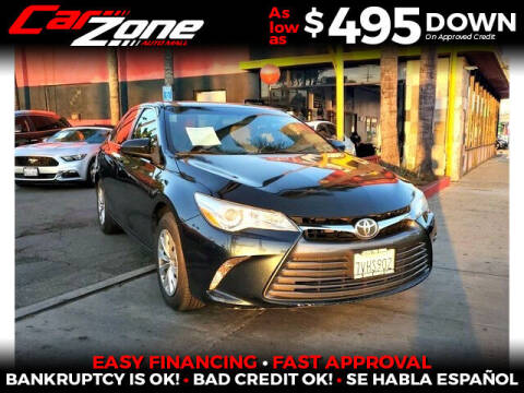 2015 Toyota Camry for sale at Carzone Automall in South Gate CA