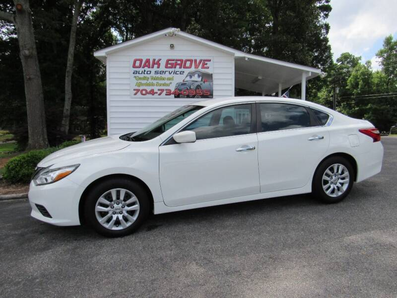 2016 Nissan Altima for sale at Oak Grove Auto Sales in Kings Mountain NC