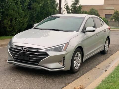 2019 Hyundai Elantra for sale at A.I. Monroe Auto Sales in Bountiful UT