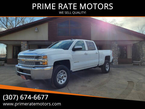 2019 Chevrolet Silverado 2500HD for sale at PRIME RATE MOTORS in Sheridan WY