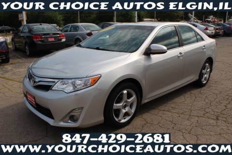2013 Toyota Camry for sale at Your Choice Autos - Elgin in Elgin IL