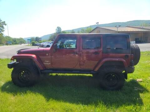 2012 Jeep Wrangler Unlimited for sale at K & L AUTO SALES, INC in Mill Hall PA