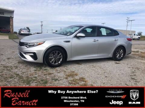 2020 Kia Optima for sale at Russell Barnett Chrysler Dodge Jeep Ram in Winchester TN