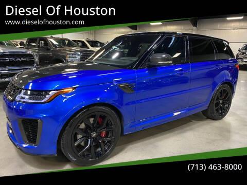 2019 Land Rover Range Rover Sport for sale at Diesel Of Houston in Houston TX