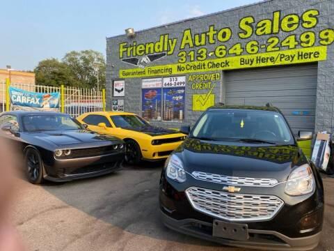 2016 Chevrolet Equinox for sale at Friendly Auto Sales in Detroit MI