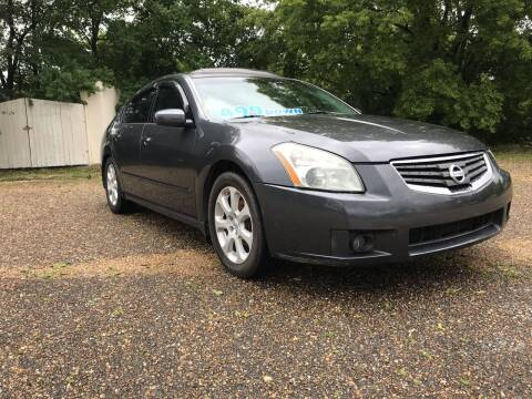2008 Nissan Maxima for sale at DRIVE ZONE AUTOS in Montgomery AL