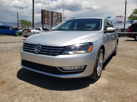 2012 Volkswagen Passat for sale at Bickham Used Cars in Alamogordo NM