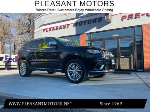 2018 Jeep Grand Cherokee for sale at Pleasant Motors in New Bedford MA