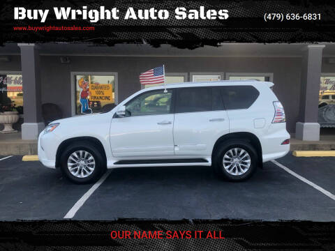 2018 Lexus GX 460 for sale at Buy Wright Auto Sales in Rogers AR
